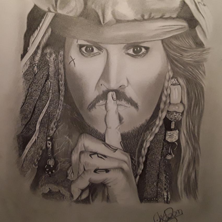 Johnny Depp by Ktoon